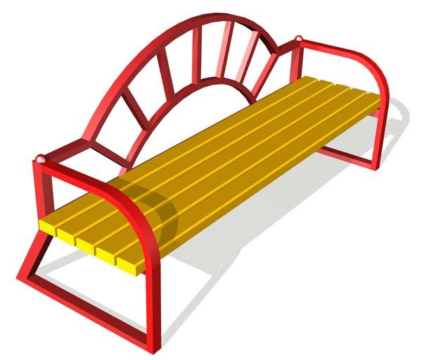 Скамейки для детских площадок фото